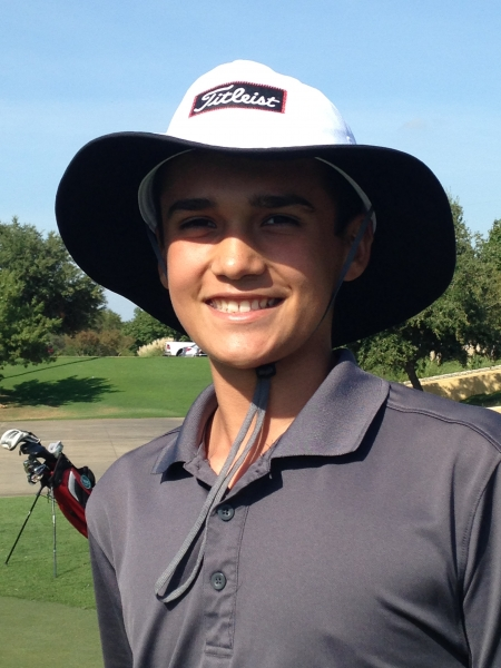 Emilio Ortiz_sets personal best record of 77_Lake Park HS invitational_October 2014.jpg