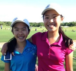 Michelle Zhou_Personal Best post  a sesond round 71 and finishes 3rd in the Lone Start Jr. Golf Champ_May_2014.jpg