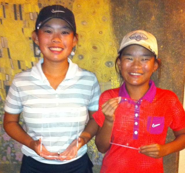 Tai & Quinn Barber_ Tai_1st by 8 strokes_ & qualifies for the College Players Tour Championship_Quinn 2nd_ 3birdies in a row personal best_NTPGA_July 2013_2.jpg