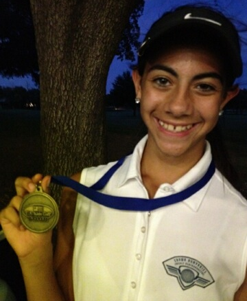 Ellie 1st Place Brookhaven NTPGA 93 won in a playoff and made par to win June 2012.png
